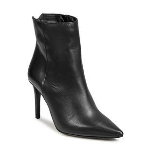 SFW Pointed Leather Boots